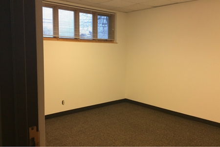 Office space for lease in Balsam Lake, Wisconsin, ideal location for meeting with clients.
