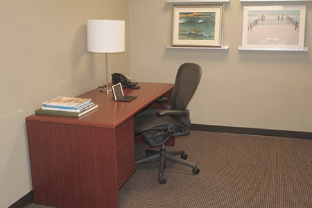 Ideal commercial office space for lease in Polk County, Wisconsin, move-in ready.
