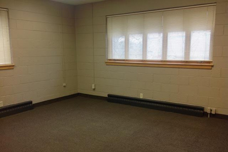 Large, commercial office space for lease in Polk County, Wisconsin, move-in ready.