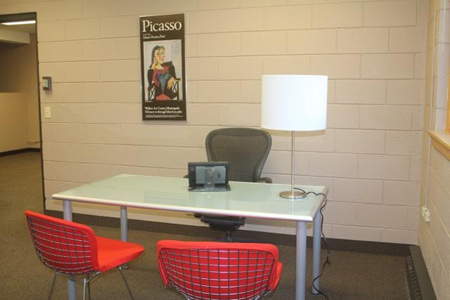 Office space for lease in Balsam Lake, Wisconsin, 3 rooms, move-in ready.