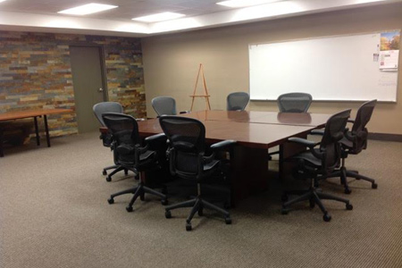 Conference room at Polk Business Center commercial office space leasing