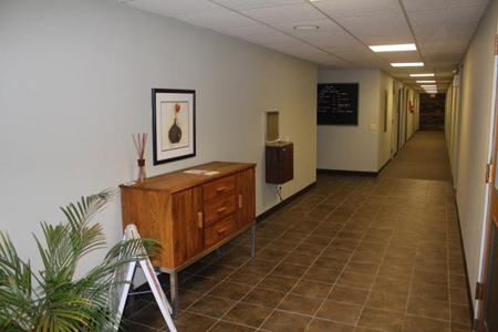 Entry at Polk Business Center commercial office space leasing