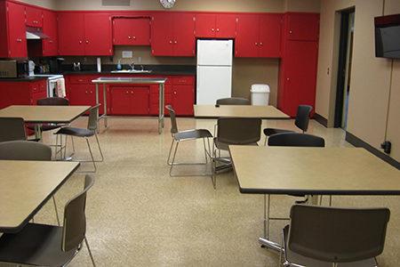 kitchen at Polk Business Center